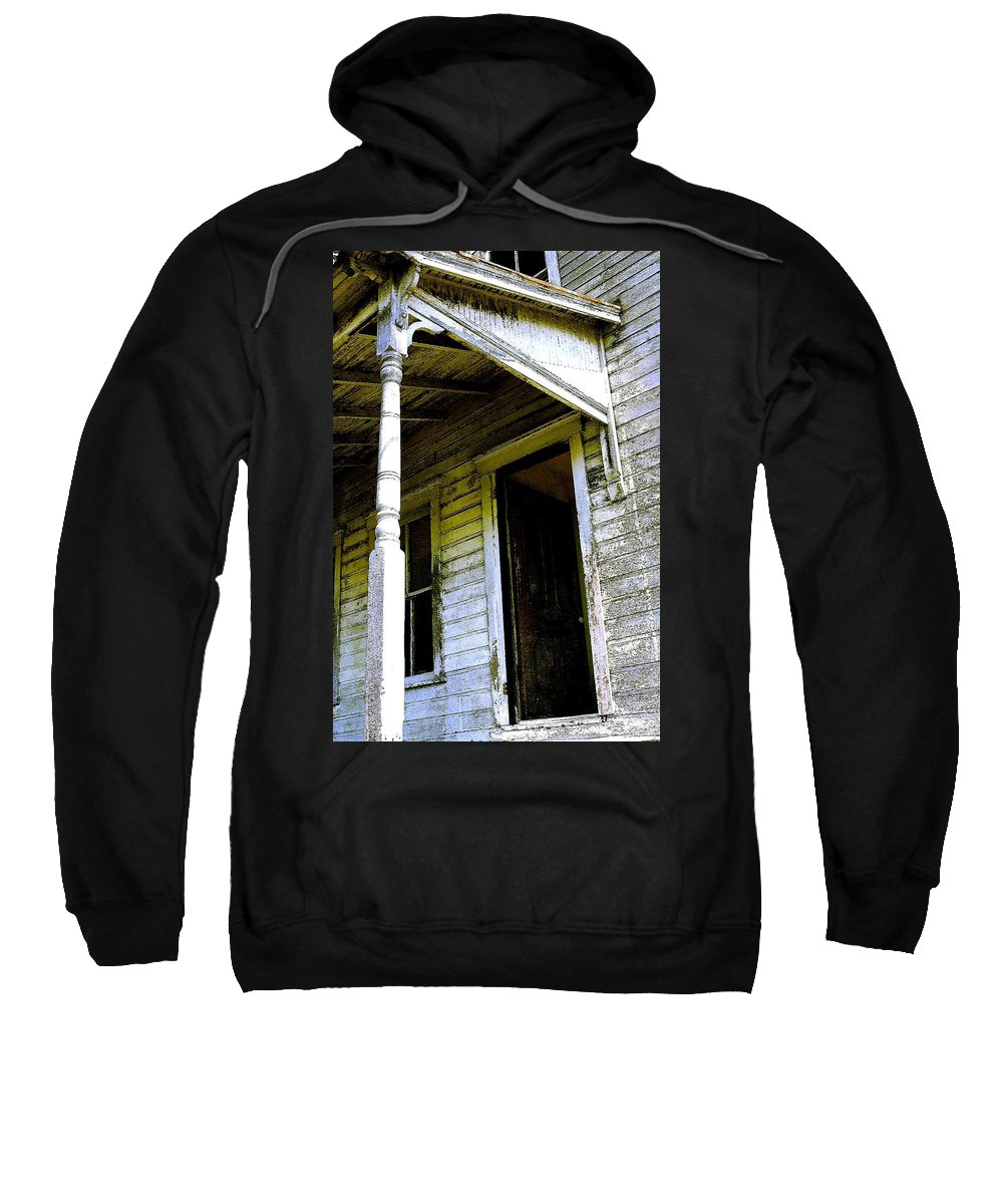 Porch Sweatshirt featuring the photograph Fairview Ohio - Number 1 by Nelson Strong