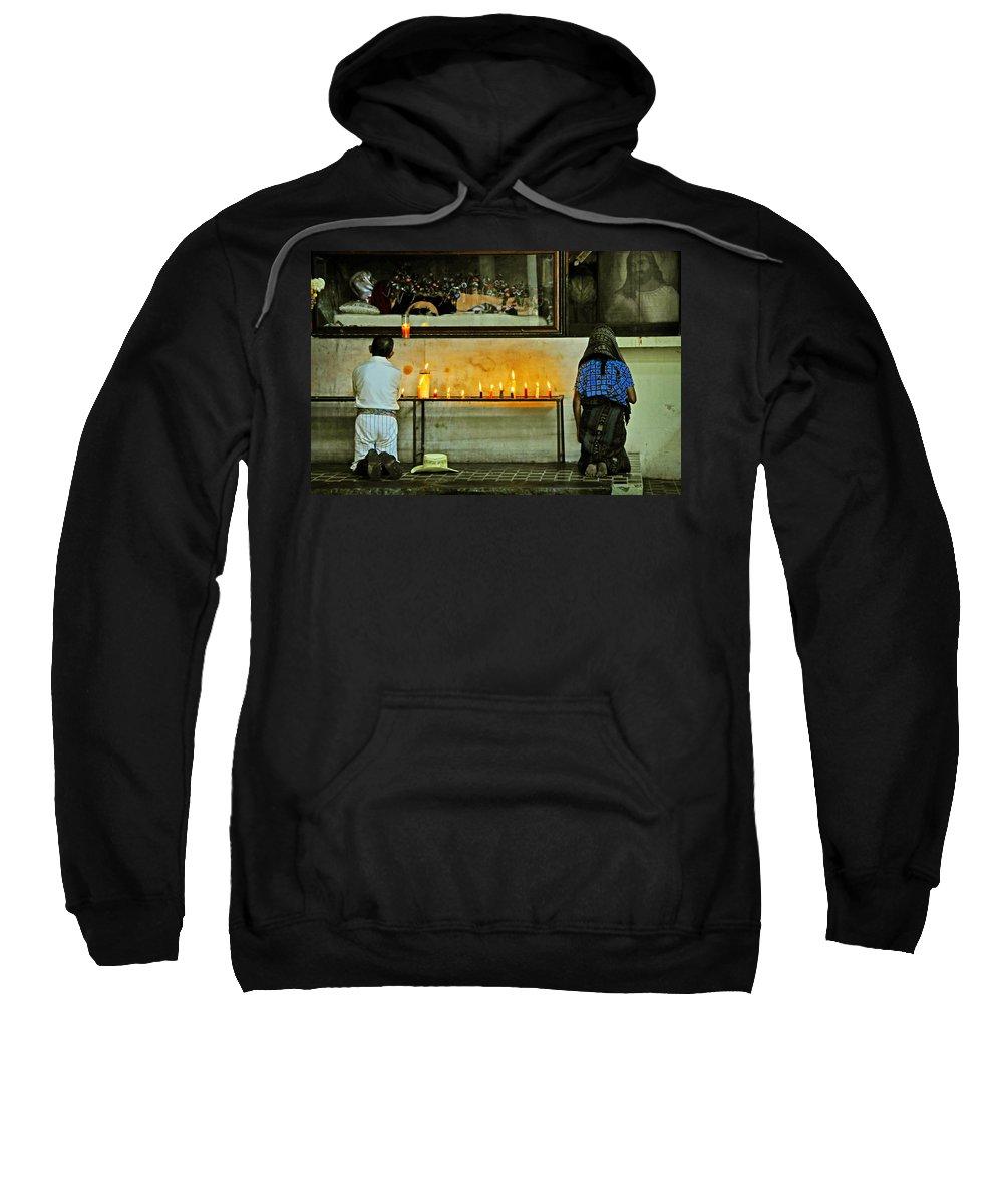 Skip Hunt Sweatshirt featuring the photograph Faith by Skip Hunt