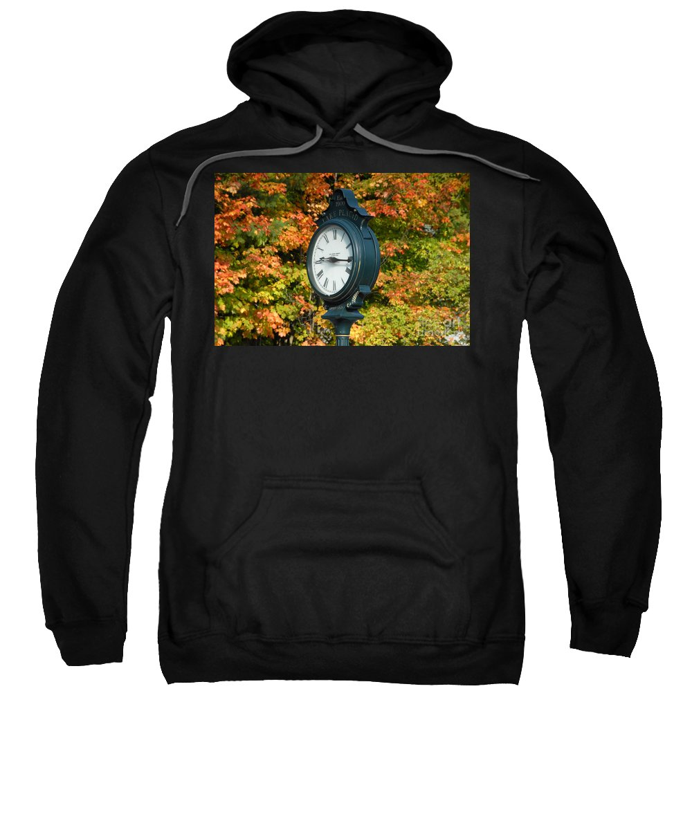 Lake Placid New York Sweatshirt featuring the photograph Fall Time by David Lee Thompson