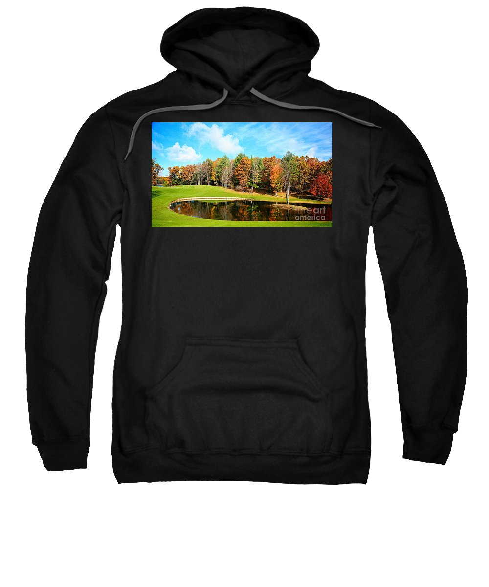 Fall Sweatshirt featuring the photograph Fall Time by Robert Pearson