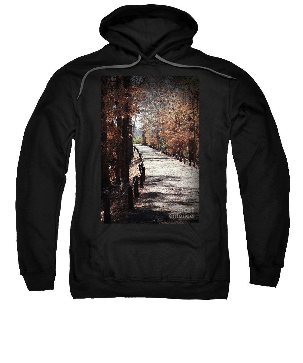 Fall Foliage Sweatshirt featuring the photograph Fall Wonder Land by Kim Henderson