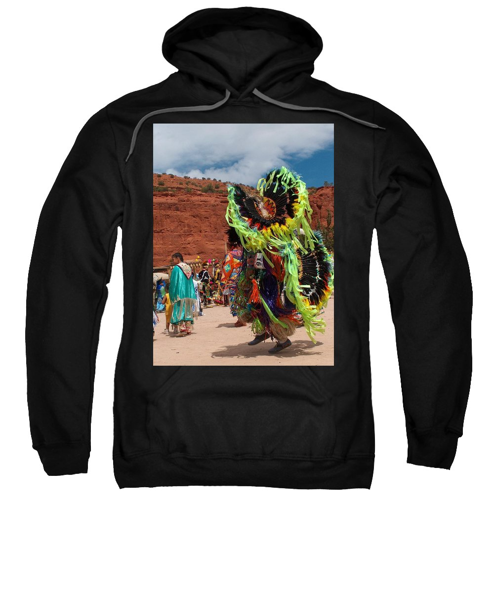 Fancy Dancer Sweatshirt featuring the photograph Fancy Dancer by Tim McCarthy