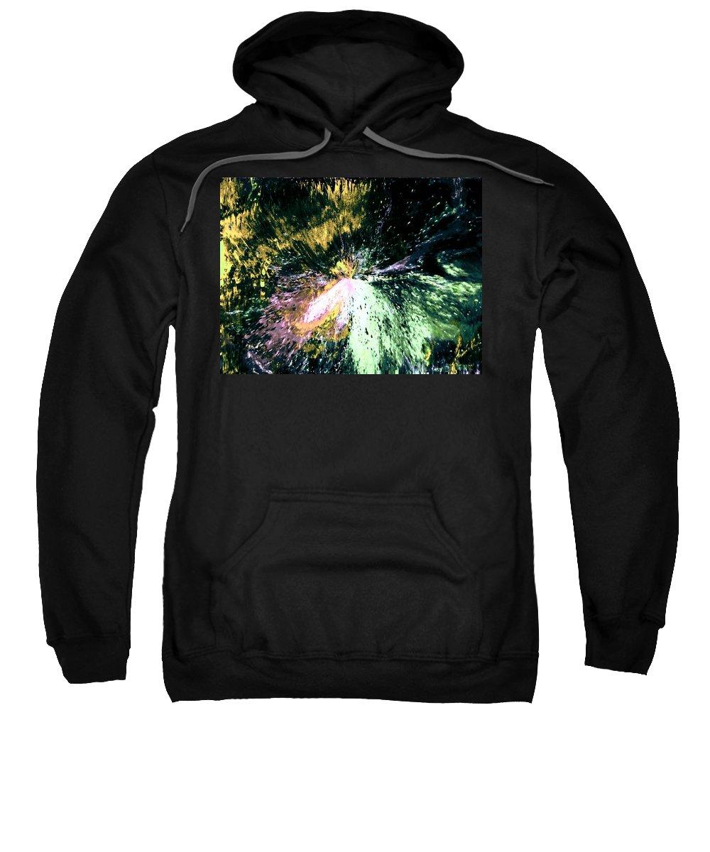 Digital Art Sweatshirt featuring the digital art Fanfare by Kendall Eutemey