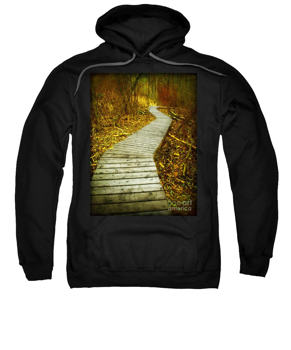 Boarwalk Sweatshirt featuring the photograph February 9 2010 by Tara Turner