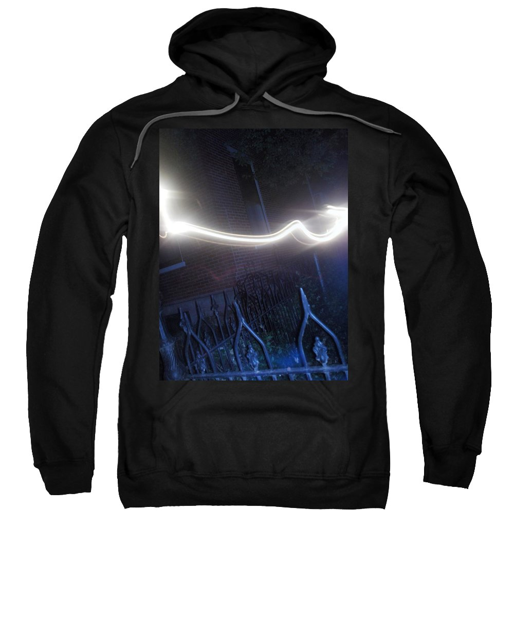 Photograph Sweatshirt featuring the photograph Fence by Thomas Valentine