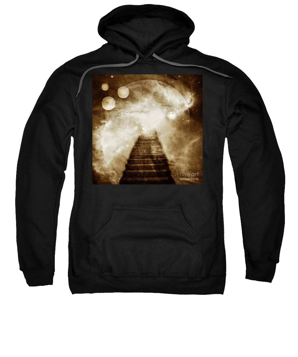 Fantasy Sweatshirt featuring the photograph Final Destination by Jacky Gerritsen
