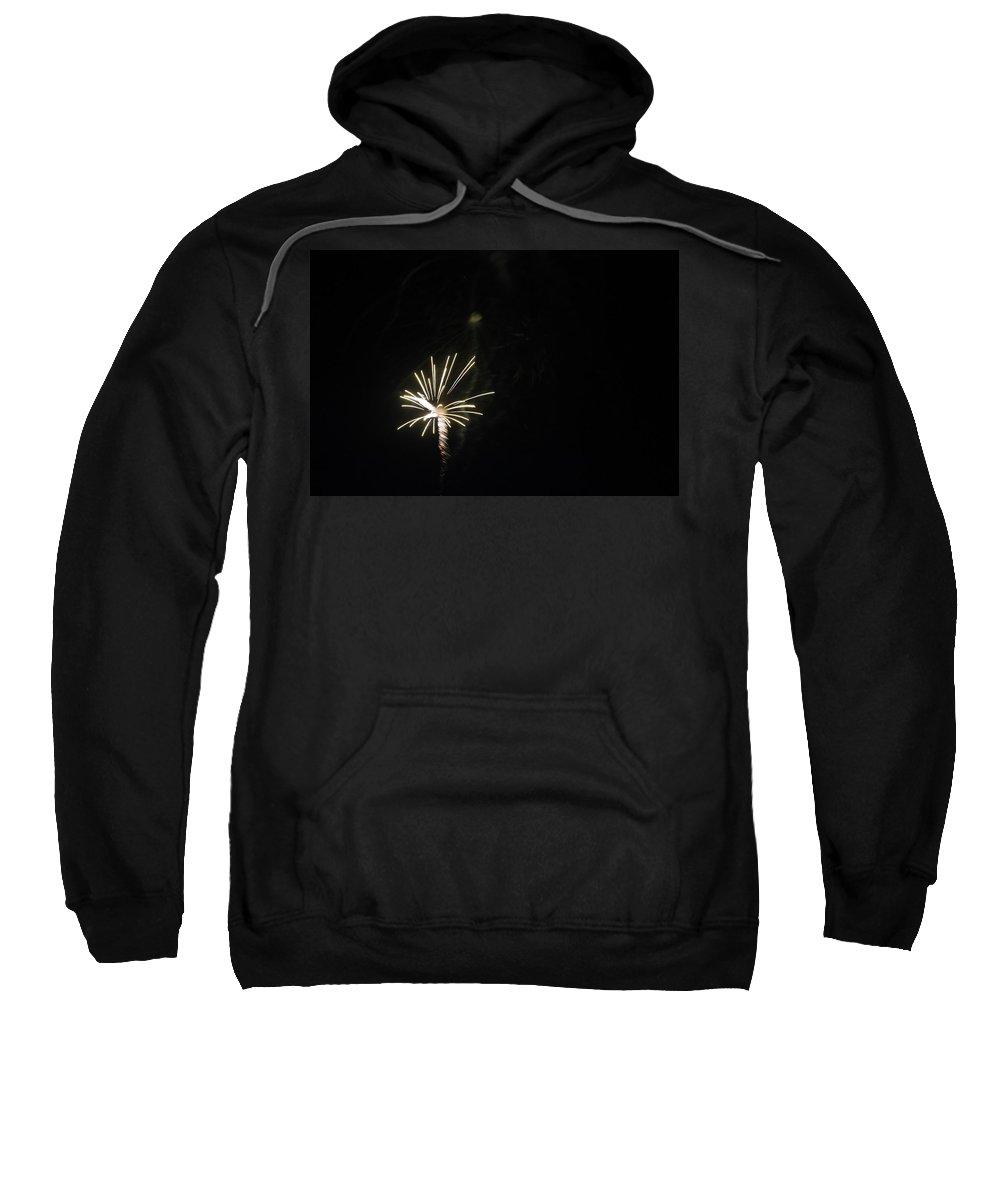 Sky Sweatshirt featuring the photograph Fireworks 2 by Erin Rosenblum