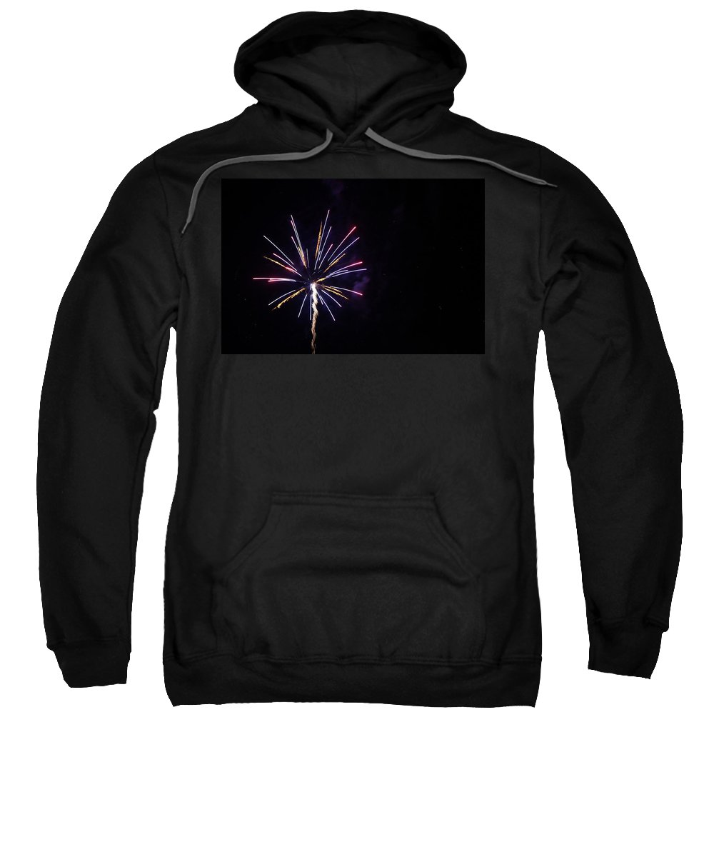 Sky Sweatshirt featuring the photograph Fireworks 6 by Erin Rosenblum