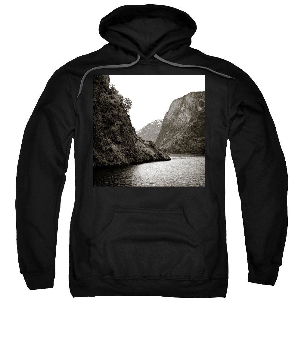 Norway Sweatshirt featuring the photograph Fjord Beauty by Dave Bowman
