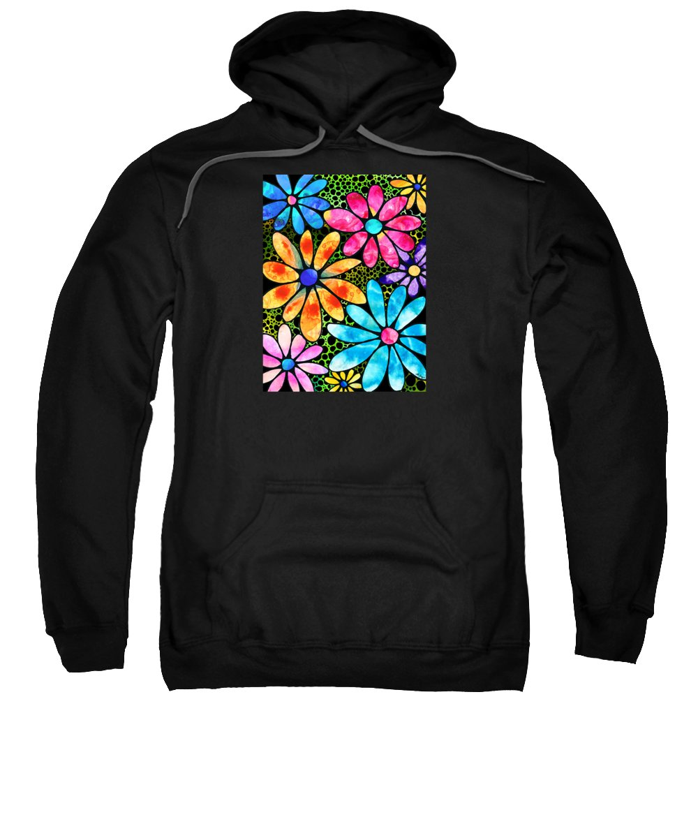 Stained Glass Hooded Sweatshirts T-Shirts
