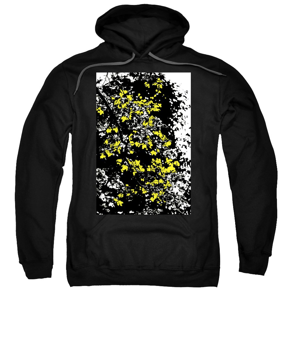Motif Sweatshirt featuring the photograph Floral Surprise by Pierre Logwin