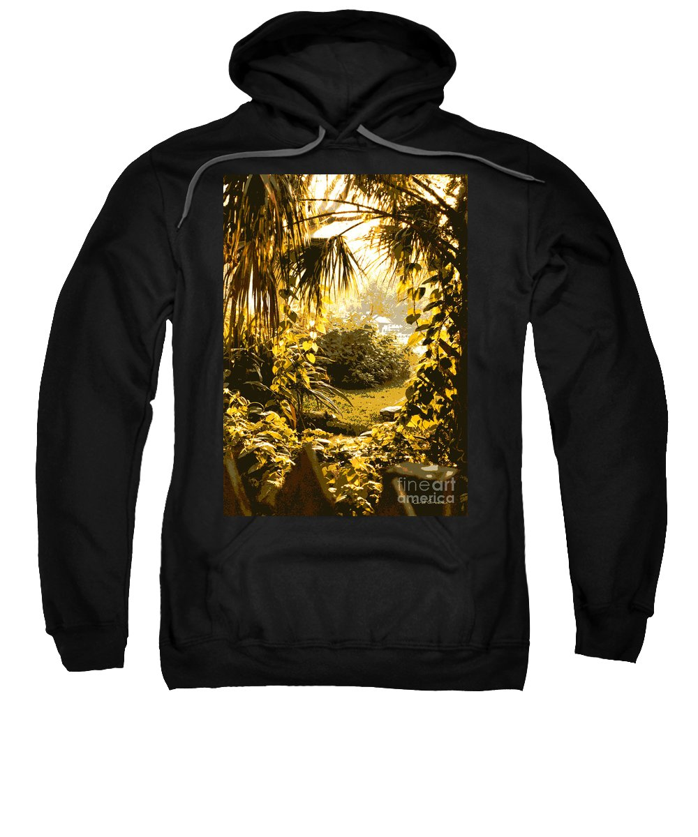 Sunlight Sweatshirt featuring the photograph Florida Dream by Carol Groenen