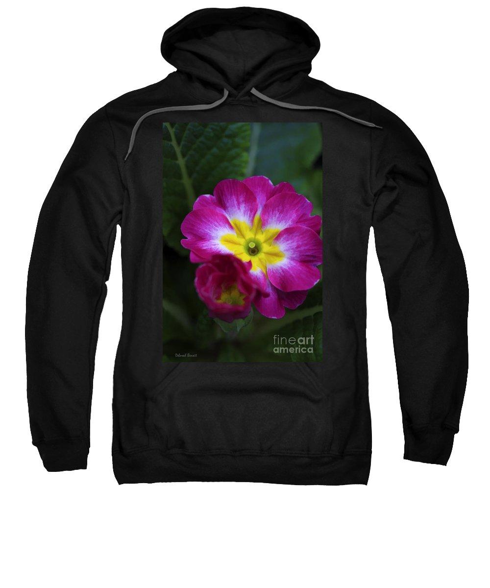 Flower Sweatshirt featuring the photograph Flower In Spring by Deborah Benoit