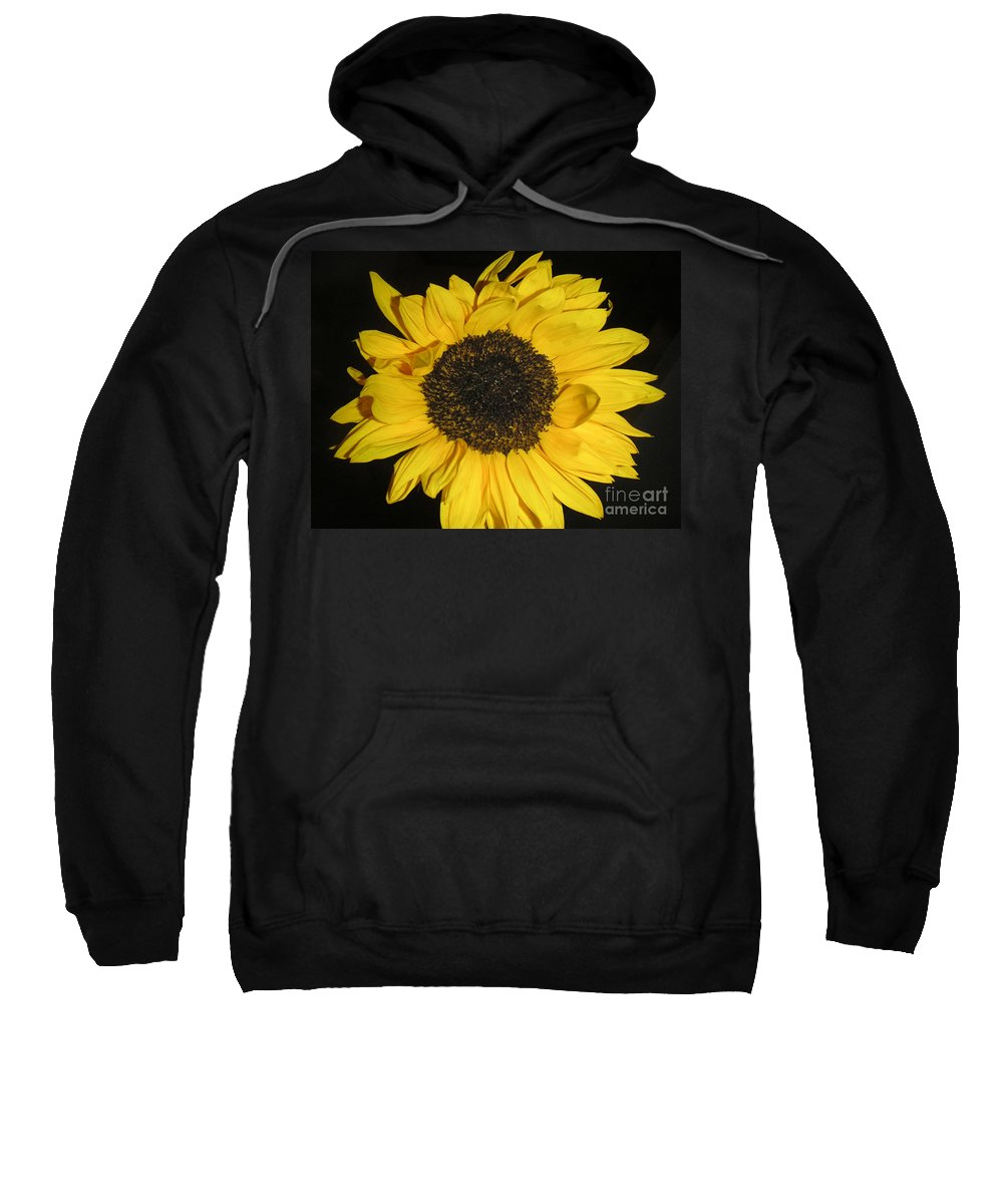 Nature Sweatshirt featuring the photograph Flower Of The Sun by Lucyna A M Green