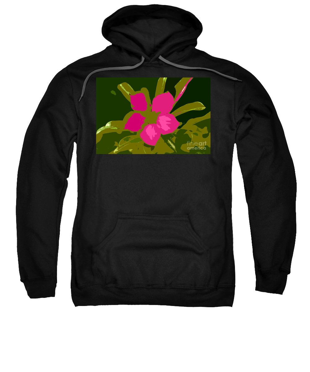 Flower Sweatshirt featuring the photograph Flower Work Number 17 by David Lee Thompson