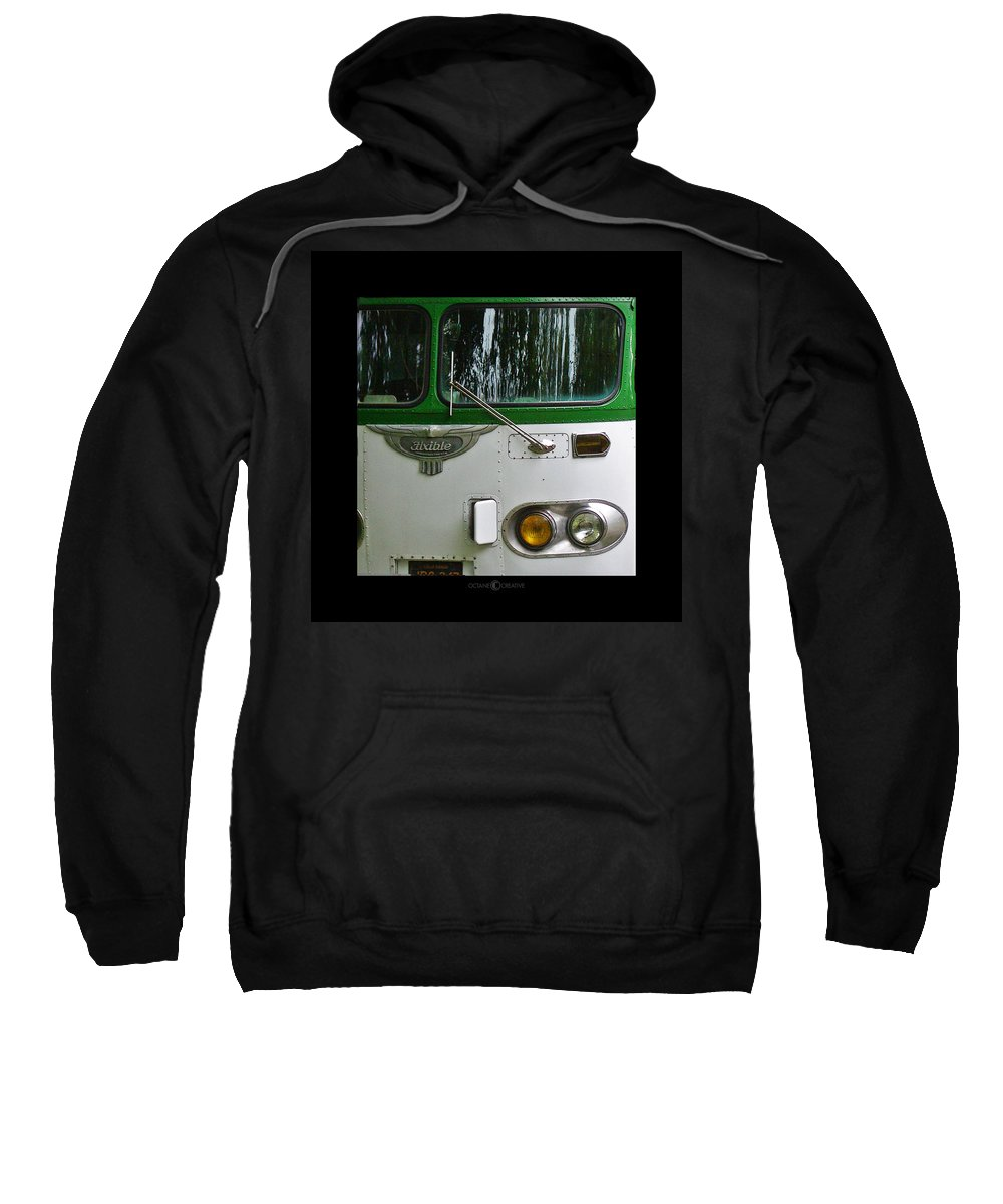 Flxible Sweatshirt featuring the photograph Flxible by Tim Nyberg