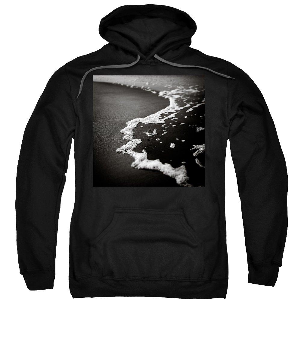 Foam Sweatshirt featuring the photograph Foam by Dave Bowman
