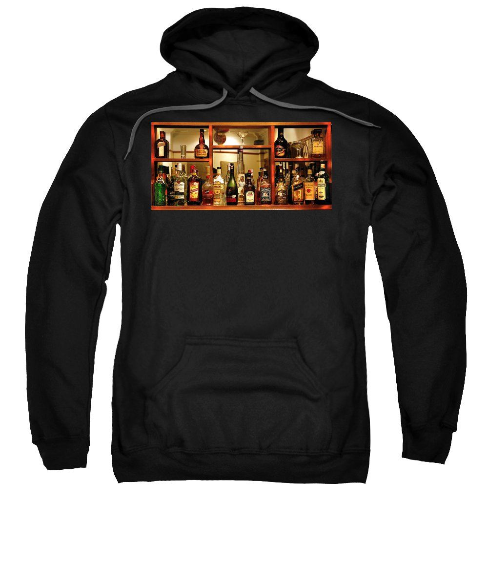 Sweatshirt featuring the photograph For My Friends by Charuhas Images