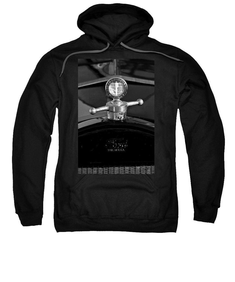 Ford Sweatshirt featuring the photograph Ford Boyce Motometer by Jill Reger