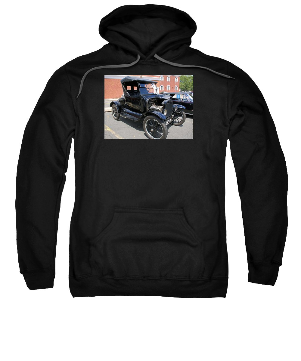 Cars Sweatshirt featuring the photograph Ford Model T1 by Gerald Mitchell