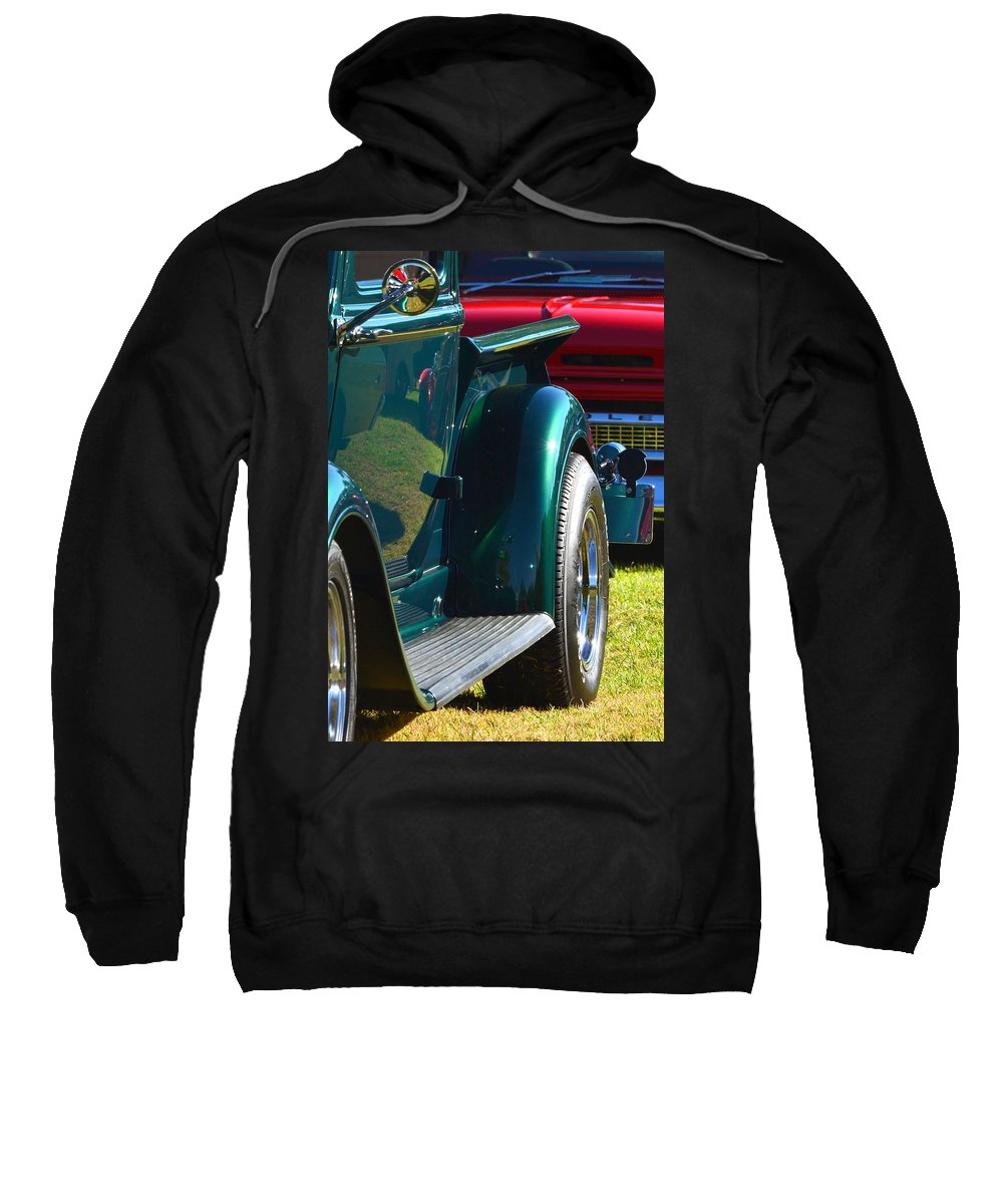 Sweatshirt featuring the photograph Ford Pickup Fender by Dean Ferreira