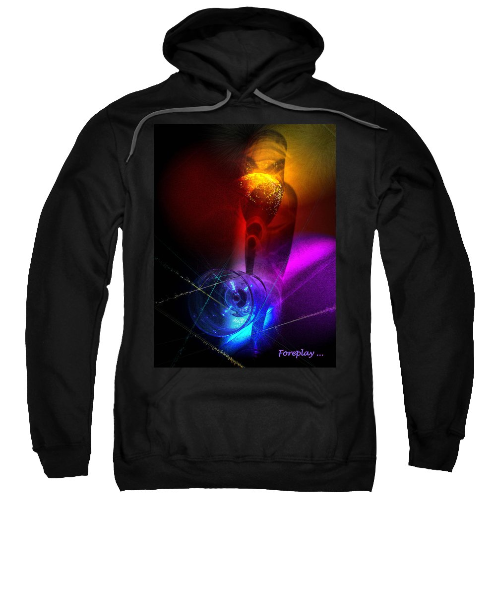 Fantasy Sweatshirt featuring the photograph Foreplay by Miki De Goodaboom