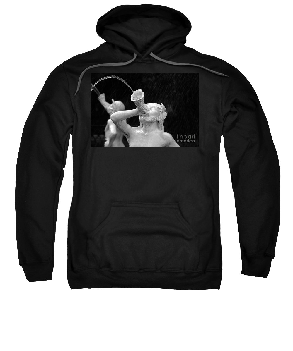 Fountain Sweatshirt featuring the photograph Fountain Dreams by David Lee Thompson