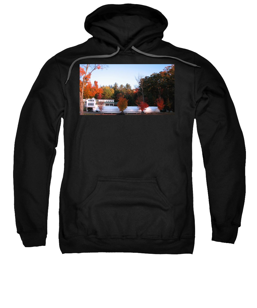 Four Bushes Sweatshirt featuring the photograph Four Bushes by Michael Mooney