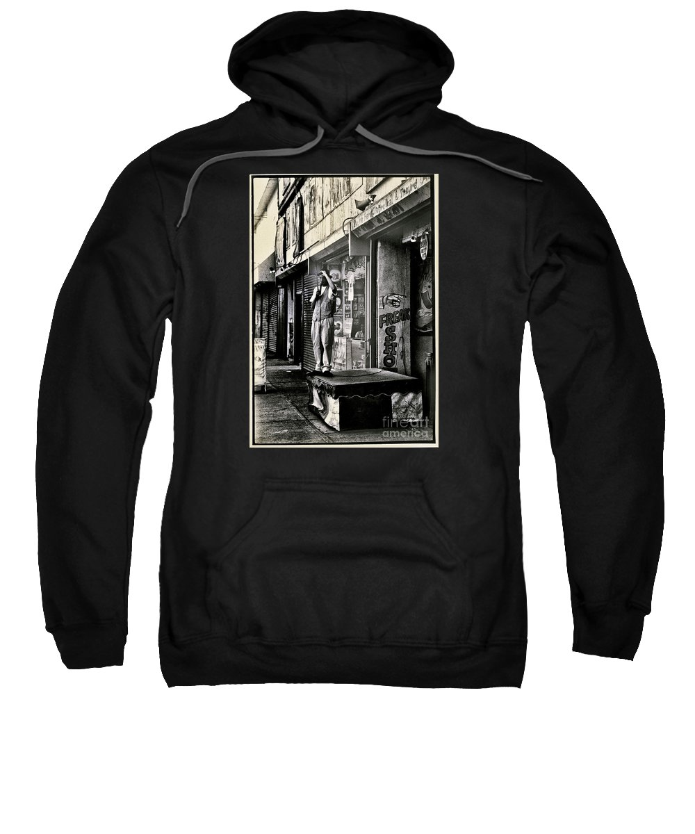 Freak Sweatshirt featuring the photograph Freak Show by Madeline Ellis