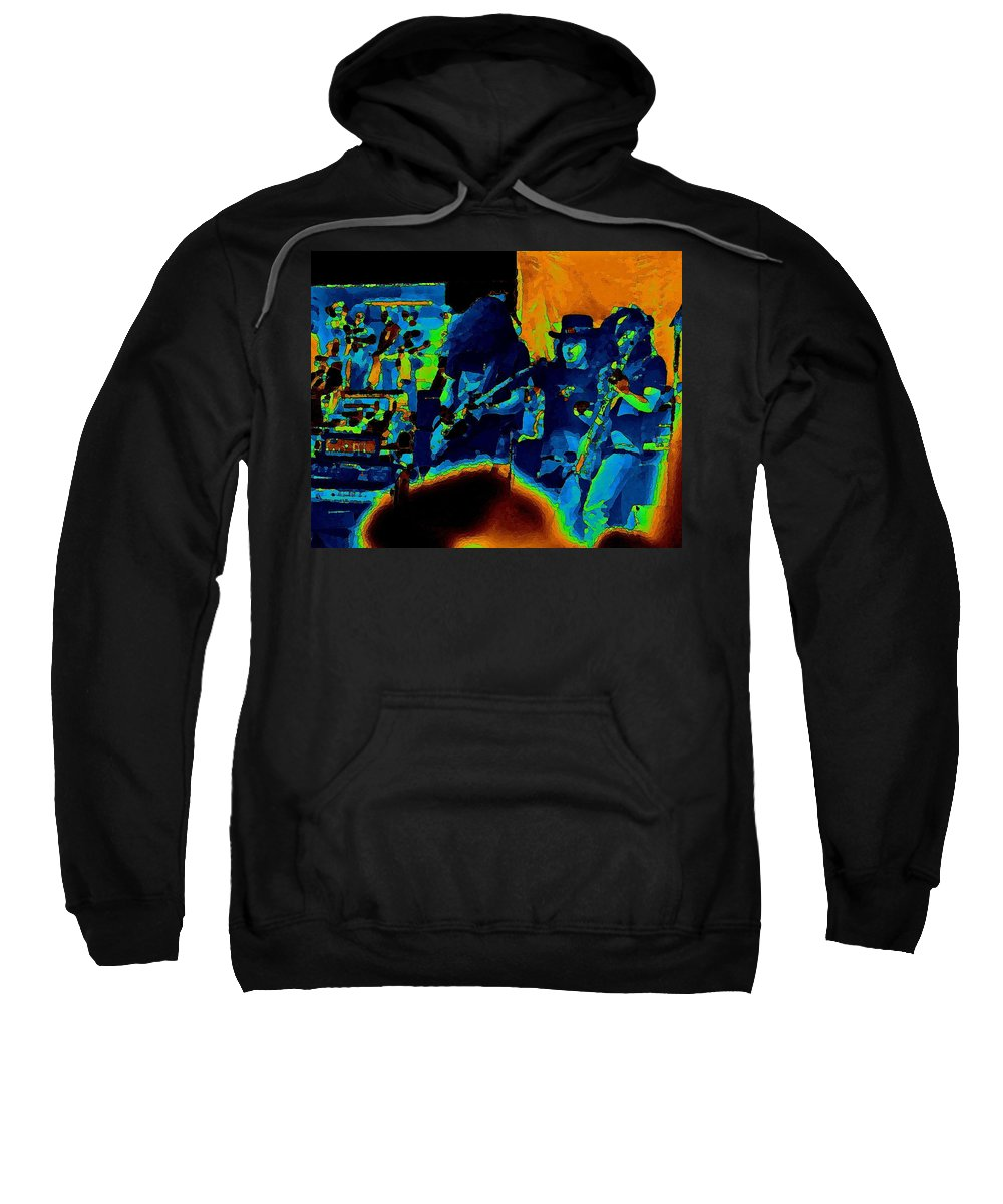 Allen Collins Sweatshirt featuring the photograph Free Bird Pastel Oakland 1 by Ben Upham III