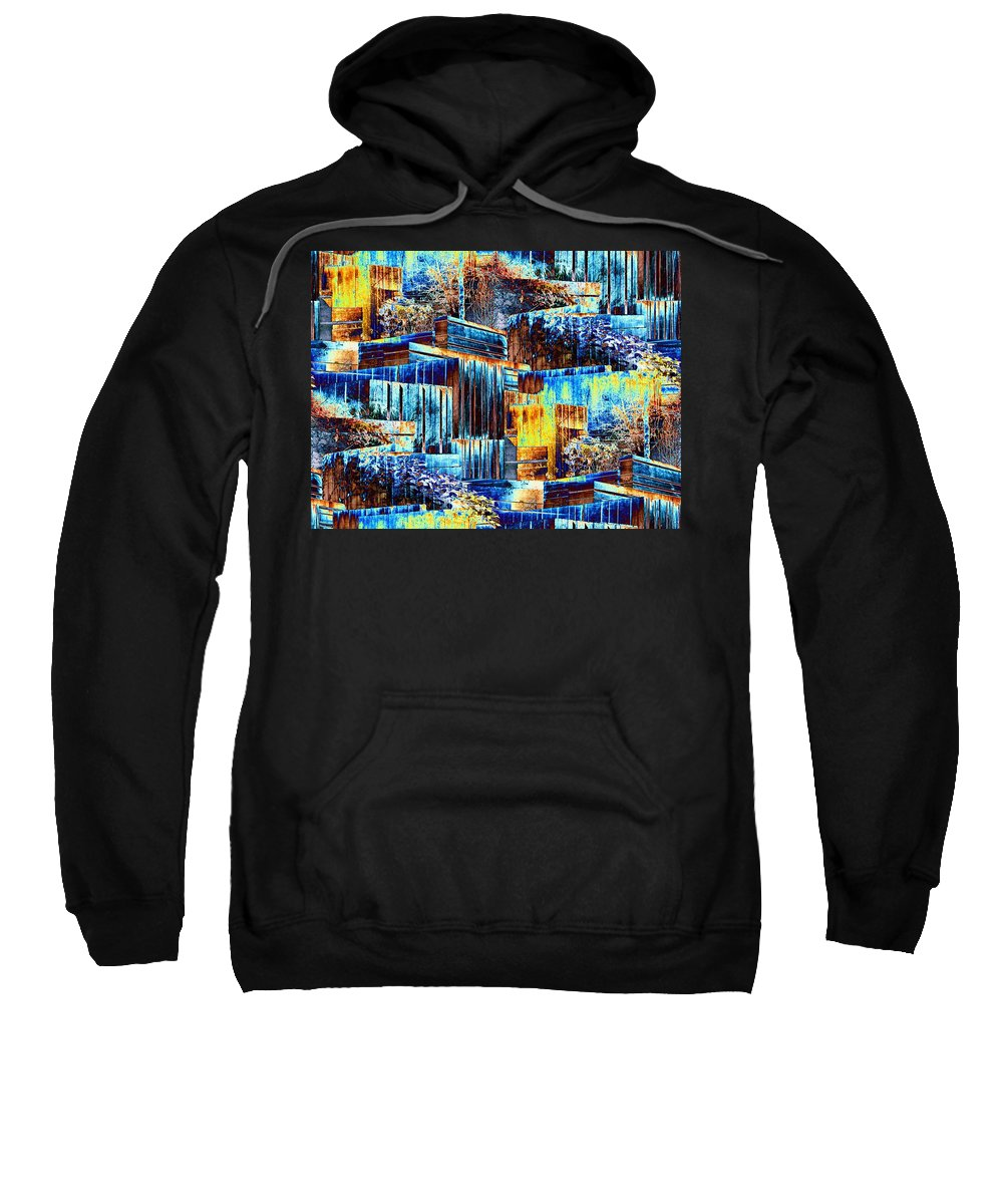 Seattle Sweatshirt featuring the photograph Freeway Park 3 by Tim Allen