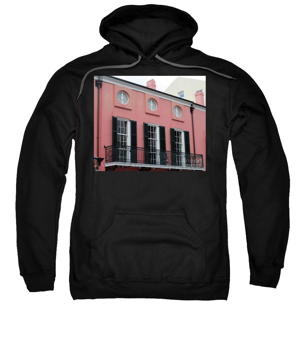 French Quarter Sweatshirt featuring the photograph French Quarter 9 by Randall Weidner