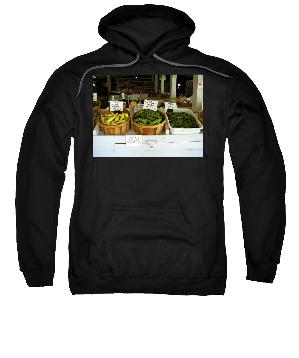 Fresh Produce Sweatshirt featuring the photograph Fresh Produce by Flavia Westerwelle