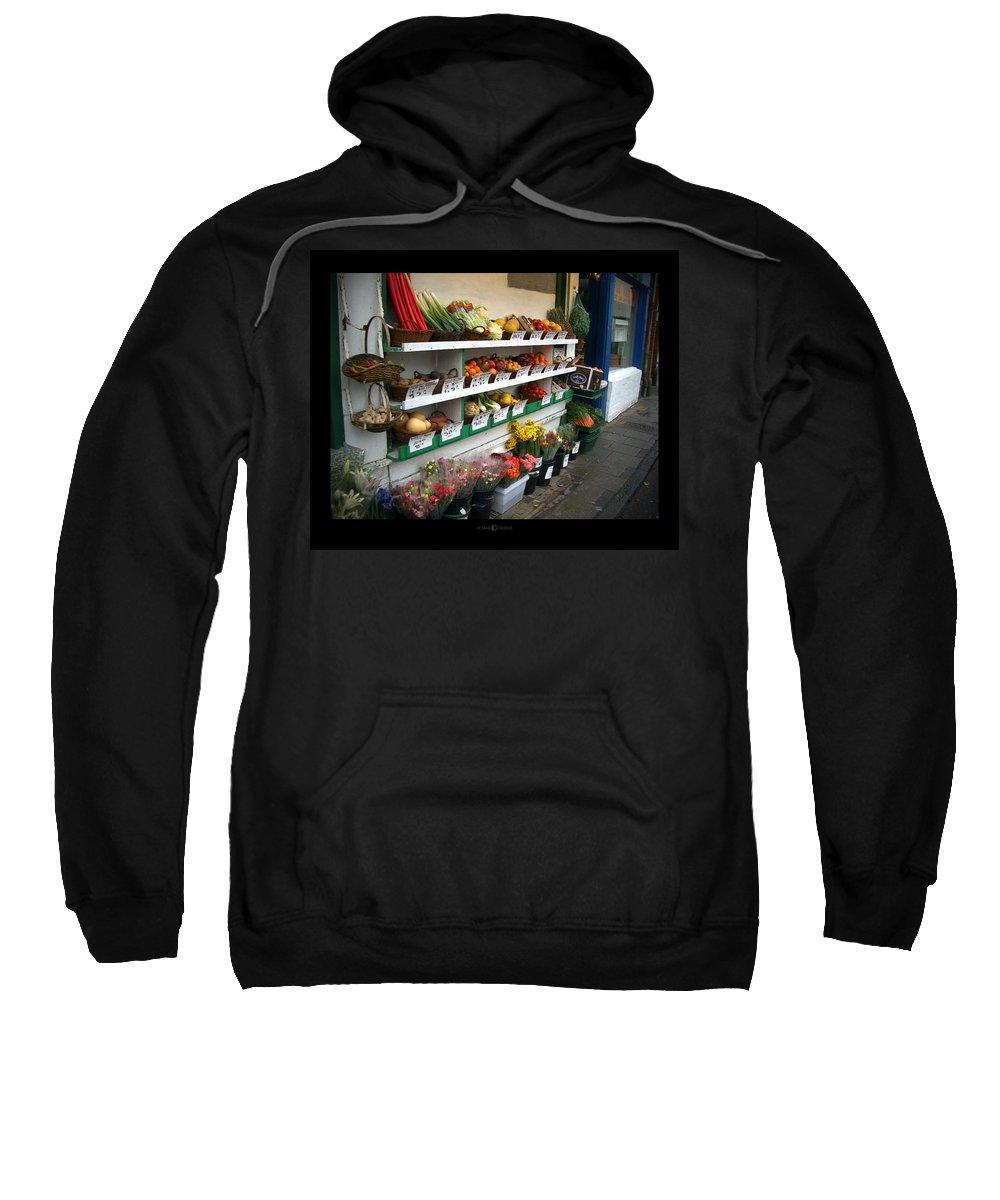 Shaftesbury Sweatshirt featuring the photograph Fresh Produce by Tim Nyberg
