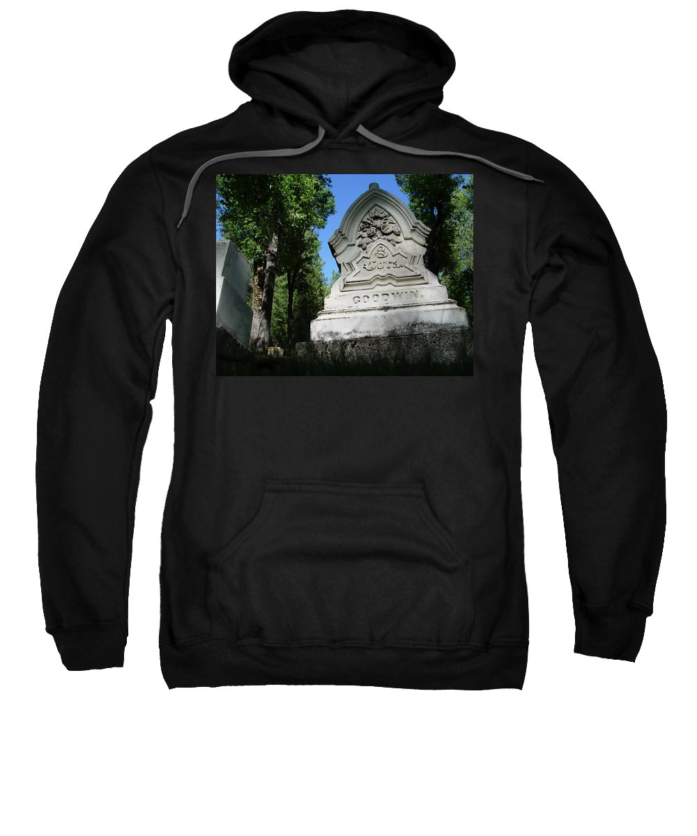 From The Grave Sweatshirt featuring the photograph From The Grave No2 by Peter Piatt