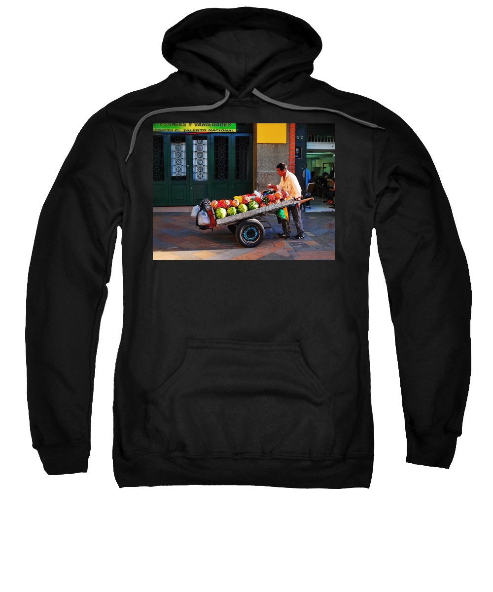 Fruta Limpia Sweatshirt featuring the photograph Fruta Limpia by Skip Hunt