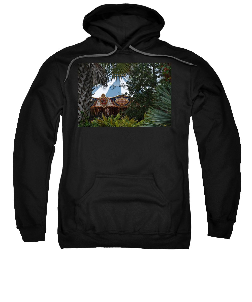 Architecture Sweatshirt featuring the photograph Fun Thru The Trees by Rob Hans