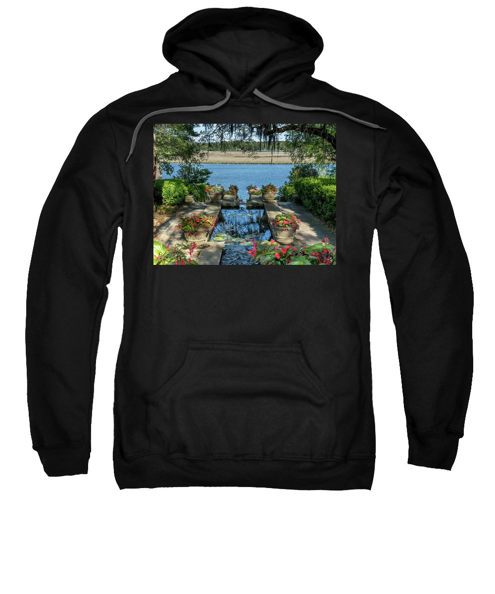 Landscape Sweatshirt featuring the photograph Garden # 123 by Larry Palmer