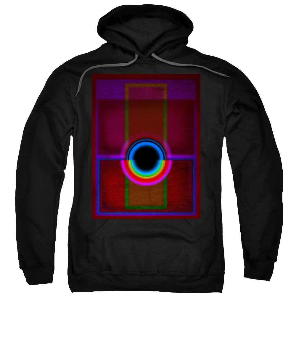 Portal Sweatshirt featuring the painting Gate by Charles Stuart