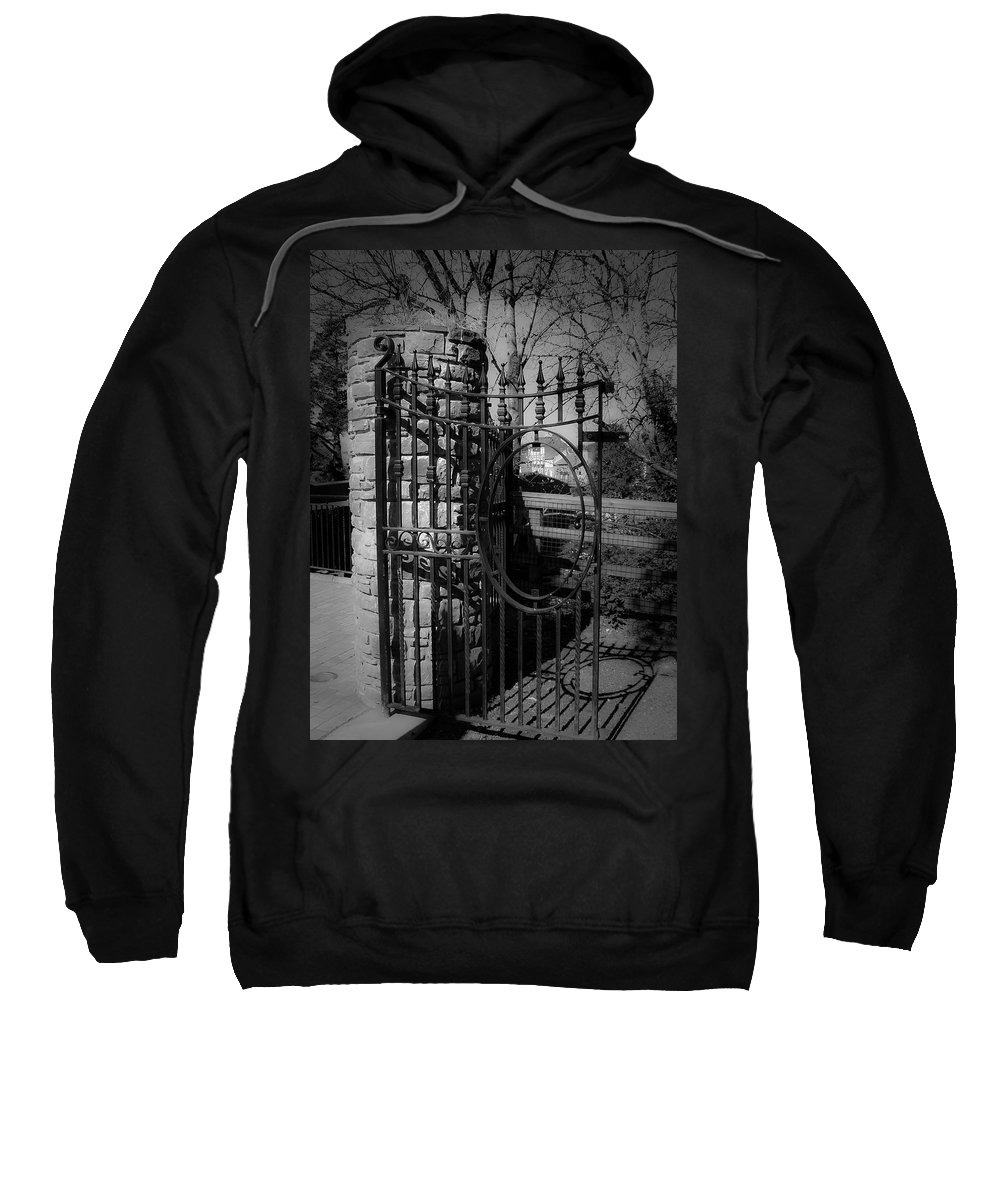 Irish Sweatshirt featuring the photograph Gate In Macroom Ireland by Teresa Mucha