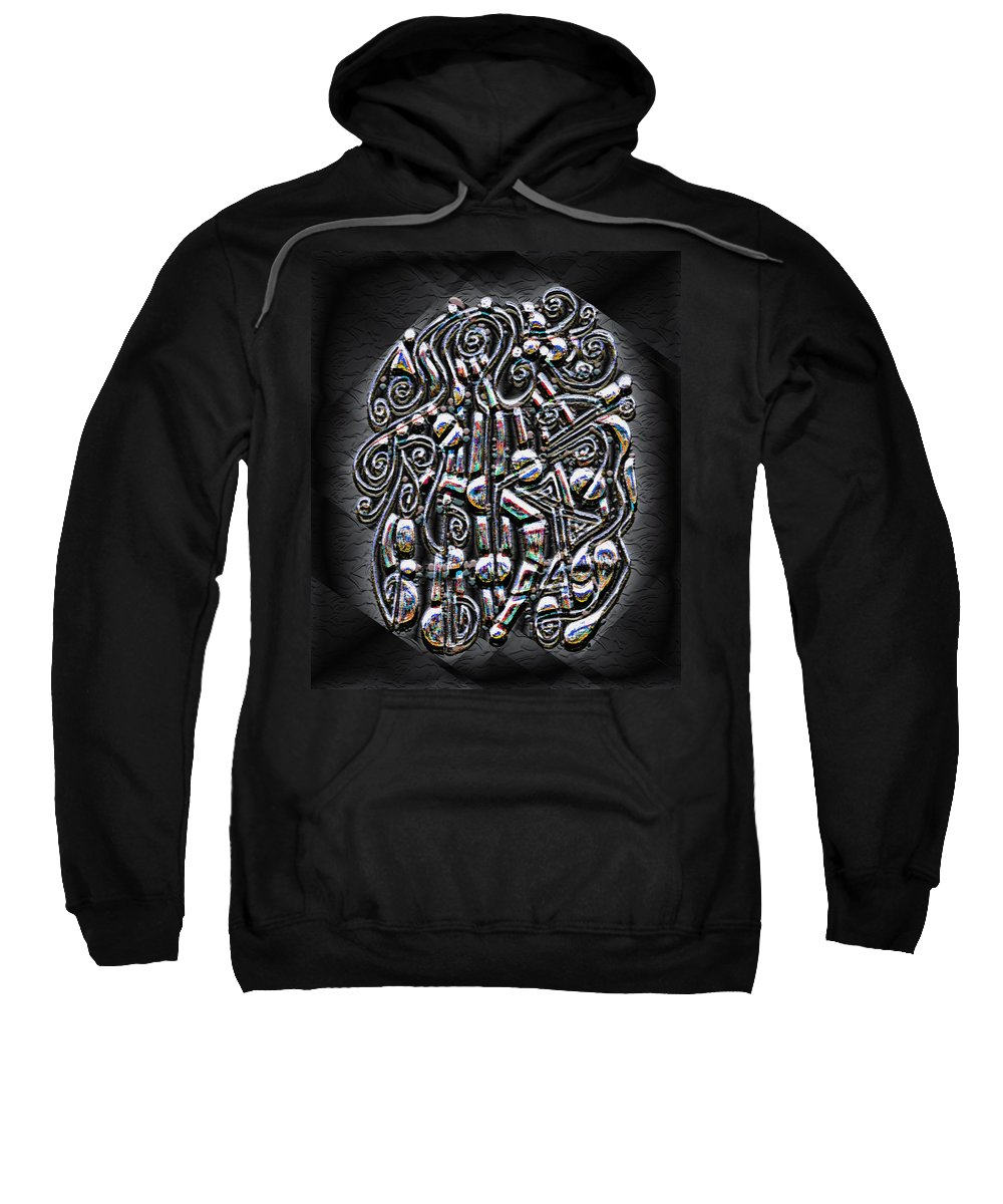Surrealism Sweatshirt featuring the digital art Gate To Mystery by Mark Sellers