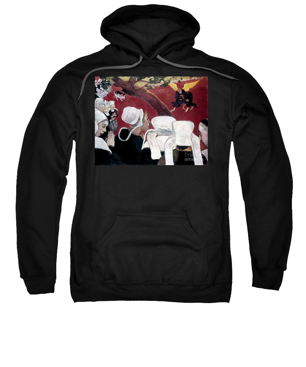 1888 Sweatshirt featuring the photograph Gaugin: Vision, 1888 by Granger