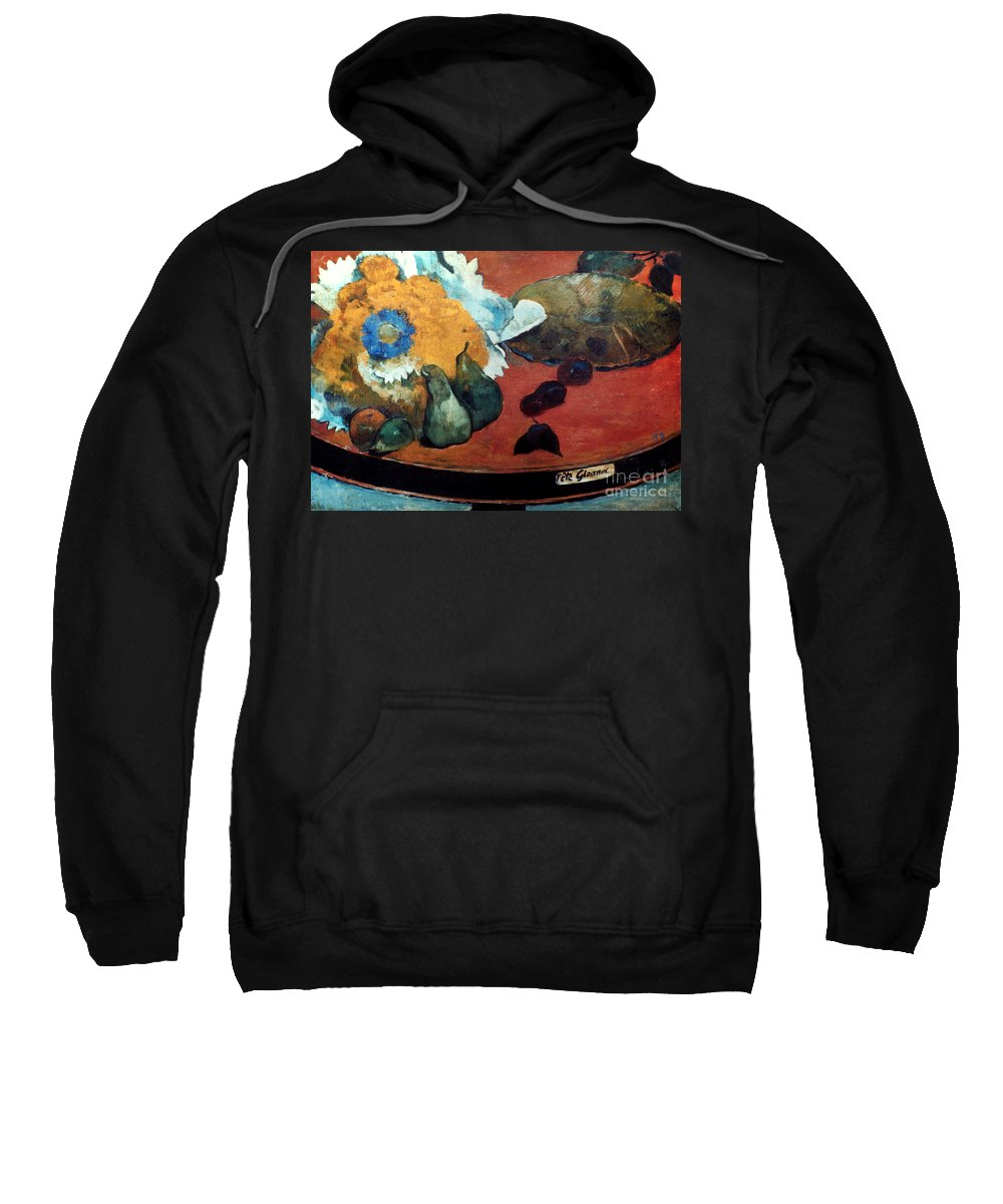 1888 Sweatshirt featuring the photograph Gauguin: Fete Gloanec, 1888 by Granger