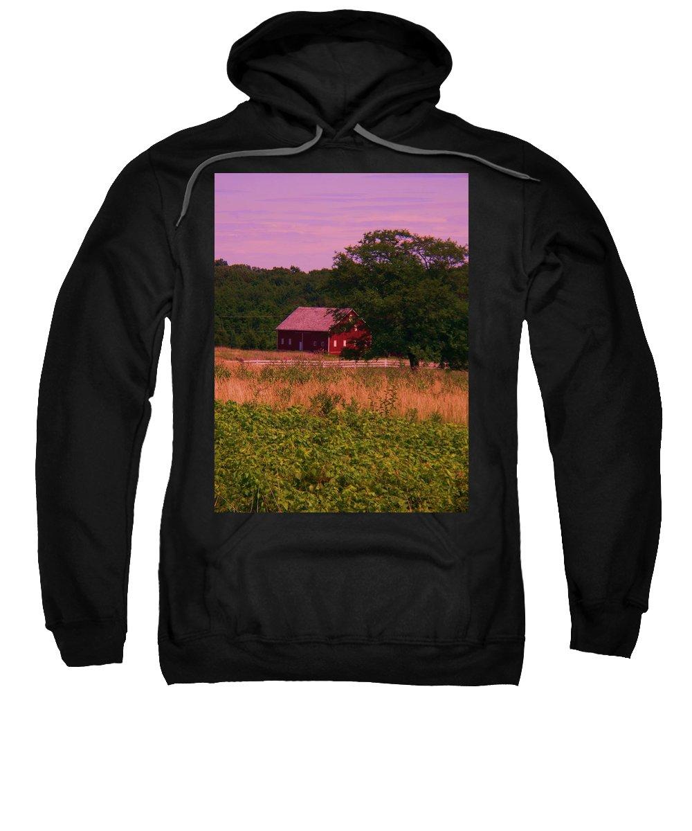 Gettysburg Sweatshirt featuring the photograph Gettysburg Barn by Eric Schiabor