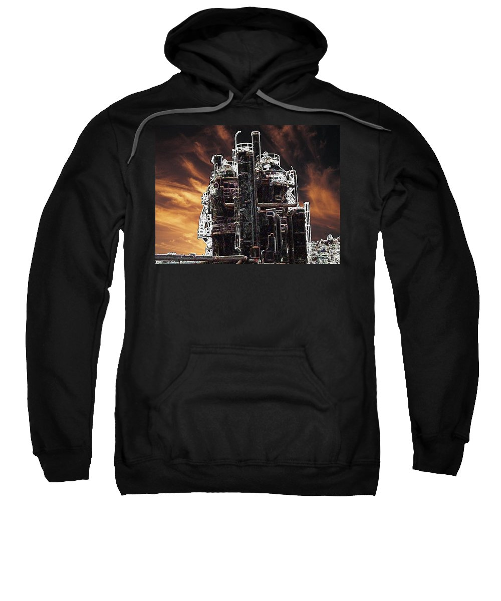 Seattle Sweatshirt featuring the photograph Ghosts Of Industy Past by Tim Allen