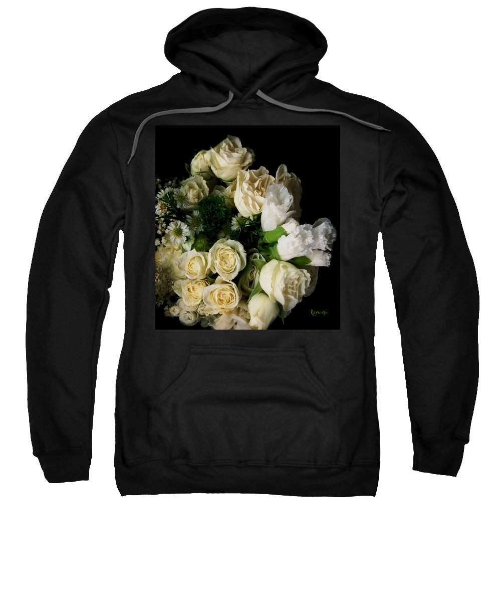 Roses Sweatshirt featuring the photograph Glamour by RC deWinter