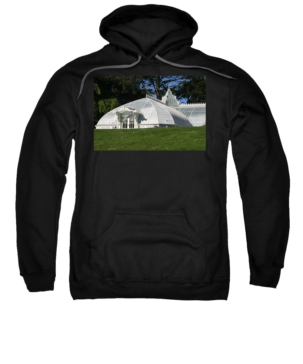 San Francisco Sweatshirt featuring the photograph Glass Houses by Kristin Haber