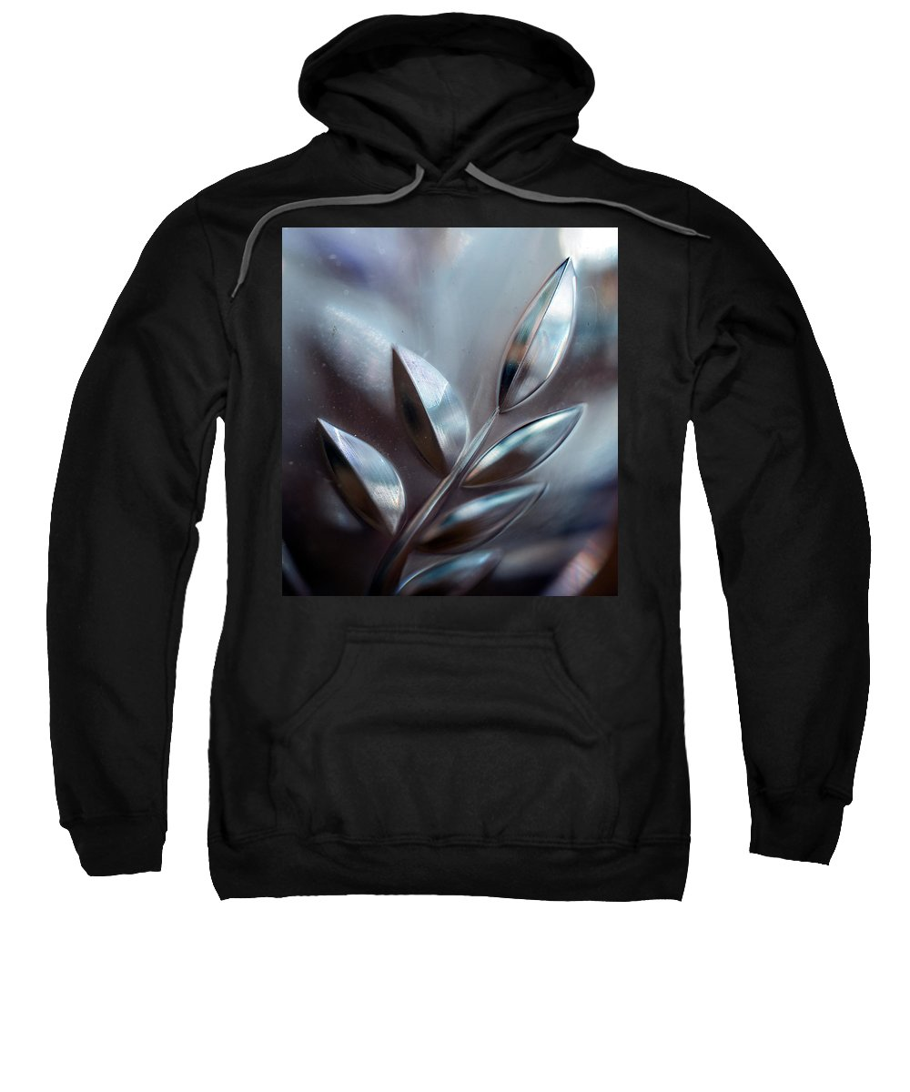 Leaves Sweatshirt featuring the photograph Glassy#1 by Jarmo Honkanen