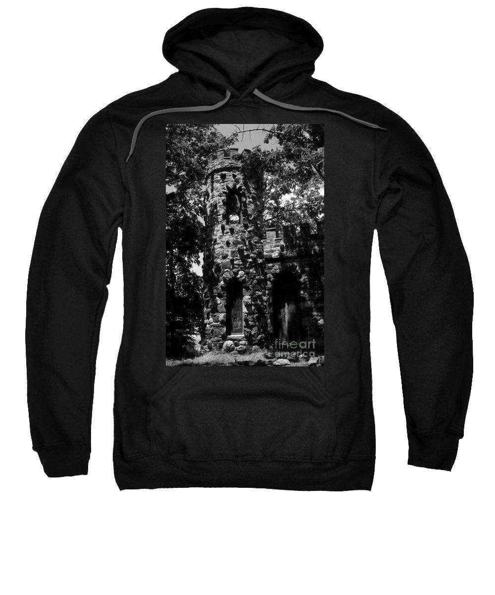 Castle Sweatshirt featuring the photograph Glen Island Castle by Richard Rizzo