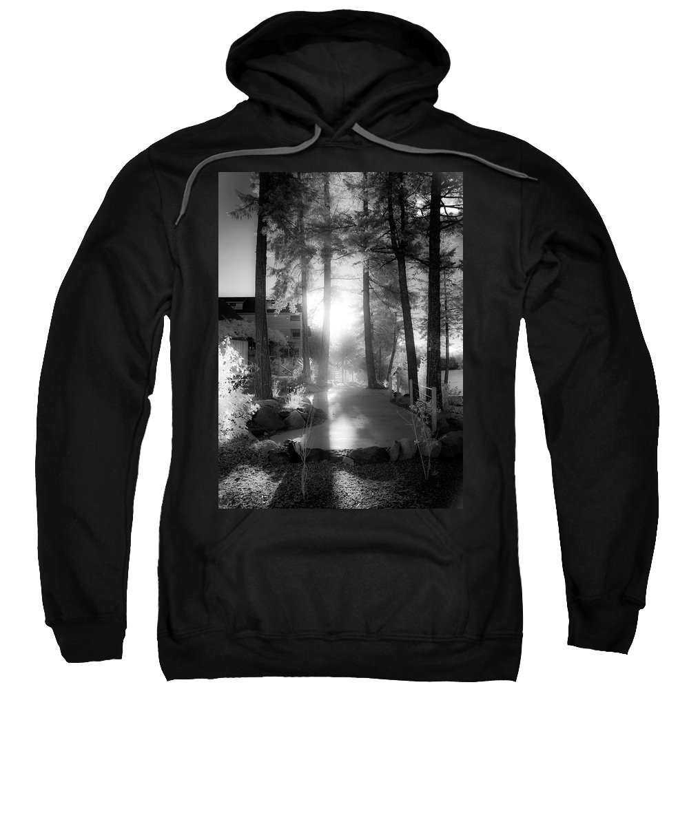 Scenic Sweatshirt featuring the photograph Glow by Lee Santa
